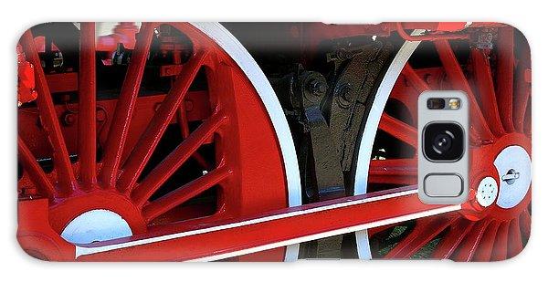 Locomotive Wheels Galaxy Case