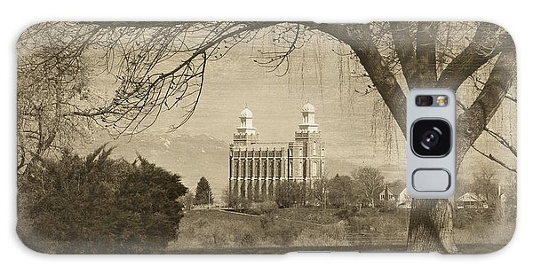 Logan Lds Temple Galaxy Case