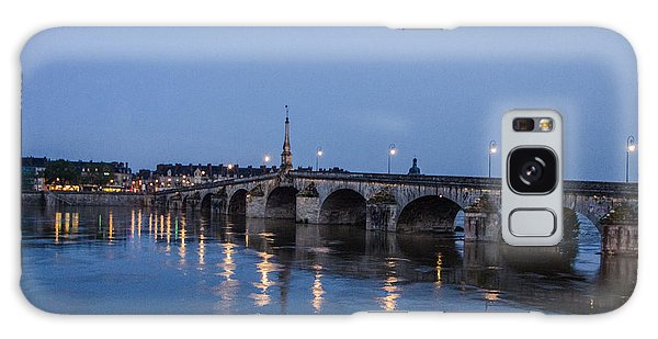 Loire River By Night Galaxy Case