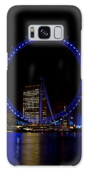 London Eye And River Thames View Galaxy Case