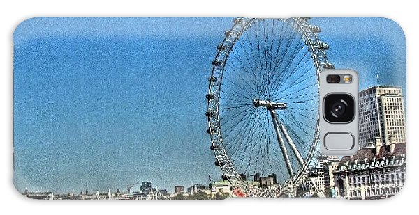 London Eye, #london #londoneye Galaxy Case