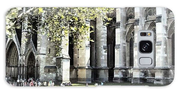 London Galaxy Case - #london2012 #london #church #stone by Abdelrahman Alawwad