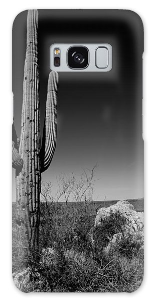 Outdoor Galaxy Case - Lone Saguaro by Chad Dutson