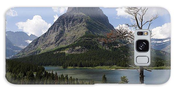 Lone Tree At Sinopah Mountain Galaxy Case