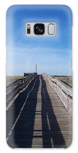 Long Beach Boardwalk Galaxy Case by Peter Mooyman
