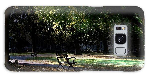 Lonley Park Bench Galaxy Case