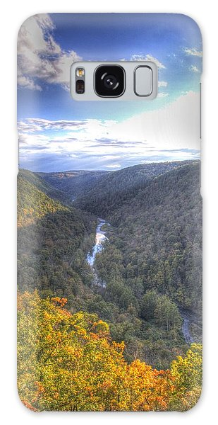 Wellsboro Galaxy Case - Look Down The Valley Of The Pa Grand Canyon by Laurie Cybulak