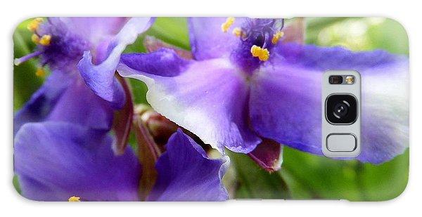 Lots Of Purple Galaxy Case by Carolyn Repka