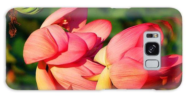 Lotus Breeze Galaxy Case