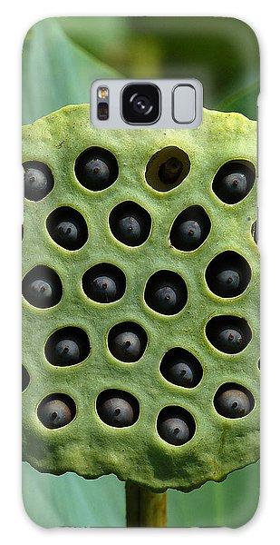 Lotus Capsule-missing Children Dl054 Galaxy Case by Gerry Gantt