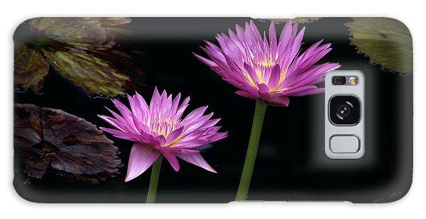 Lotus Water Lilies Galaxy Case