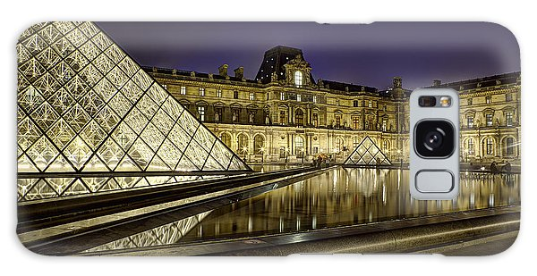 Louvre Courtyard By Night Galaxy Case
