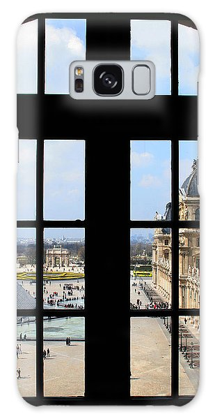 Louvre Window Galaxy Case