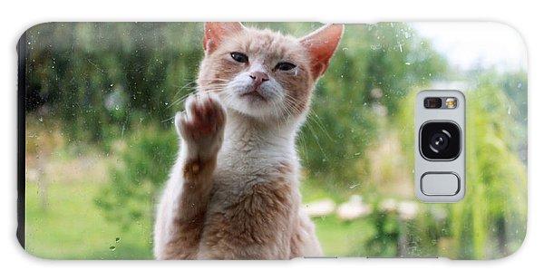 Buy Art Online Galaxy Case - Lovely Cat by Augusta Stylianou