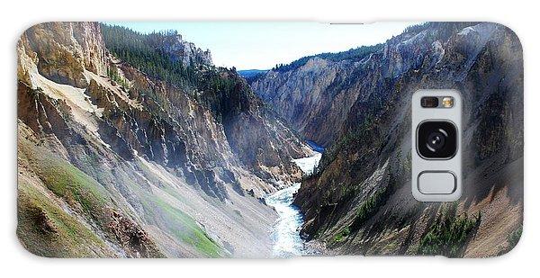 Lower Falls - Yellowstone Galaxy Case by Dany Lison