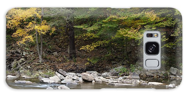 Loyalsock Creek Flowing Gently Galaxy Case
