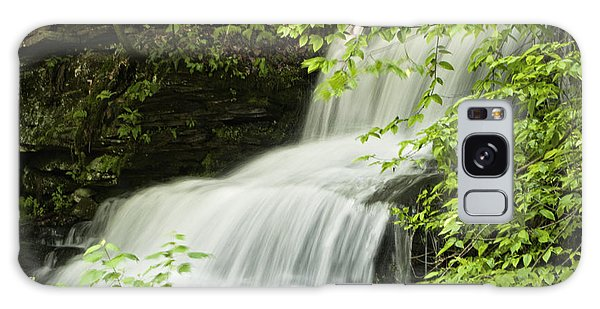 Loyalsock Waterfall Galaxy Case