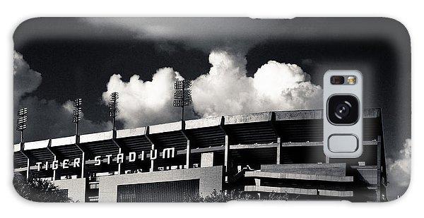 Lsu Tiger Stadium Black And White Galaxy Case