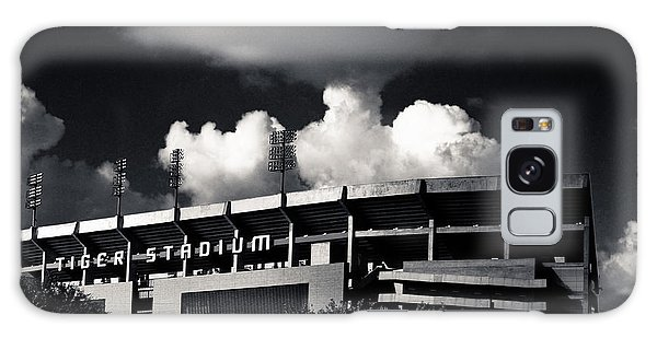 Lsu Tiger Stadium Black And White Galaxy Case