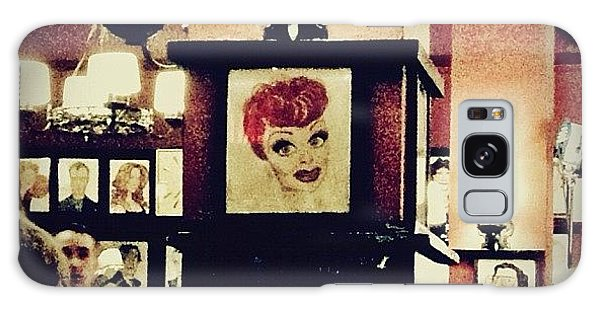 Lucille Ball Galaxy Case by Natasha Marco