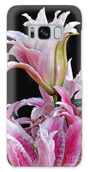 Luscious Lilies Galaxy Case