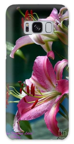 Lushes Fragrant Lilies Galaxy Case