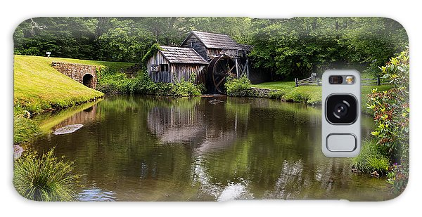 Mabry Mill And Pond Galaxy Case