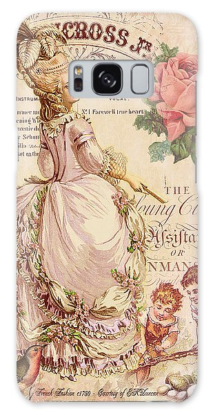 Fashion Plate Galaxy Case - Mademoiselle Couture by Sarah Vernon