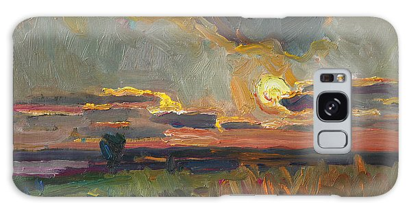 Magical World Of Sunset Galaxy Case