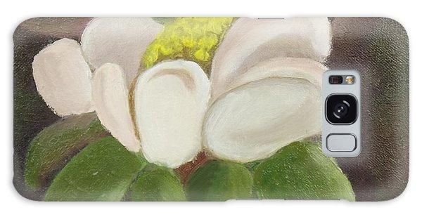 Magnificient Magnolia Galaxy Case by Margaret Harmon