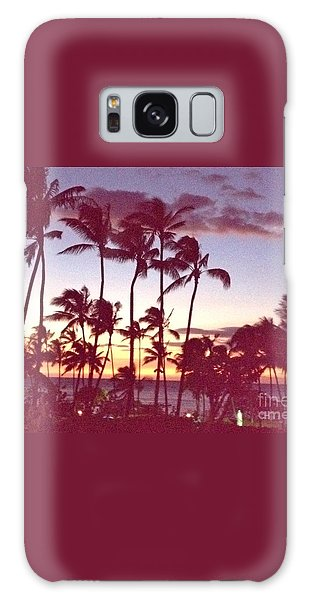 Mahalo For This Day Galaxy Case by Beth Saffer