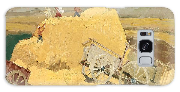 Cart Galaxy Case - Making Hay Stacks by Ylli Haruni