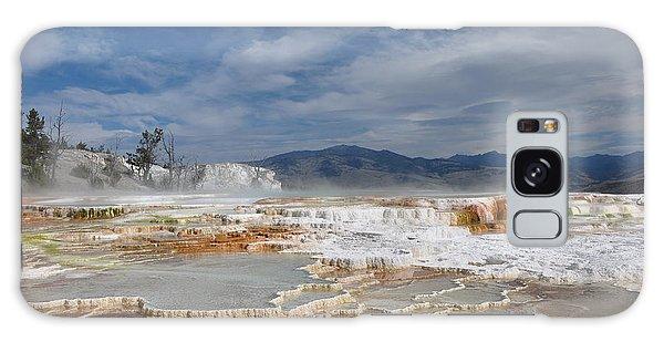 Mammoth Hot Springs Galaxy Case