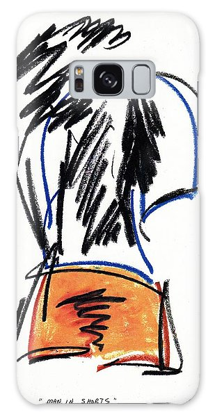 Man In Shorts  Galaxy Case by Patrick Morgan