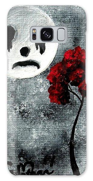 Man In The Moon Galaxy Case by Oddball Art Co by Lizzy Love