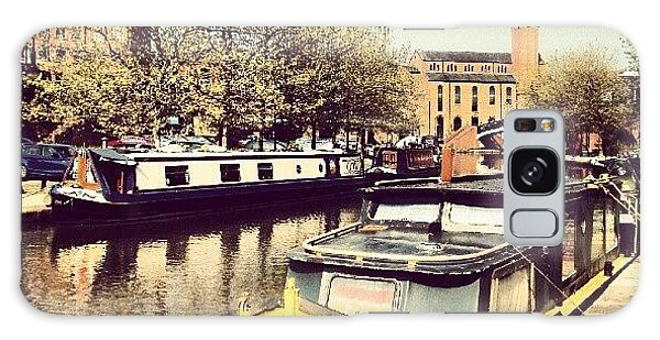 Classic Galaxy Case - #manchester #manchestercanal #canal by Abdelrahman Alawwad