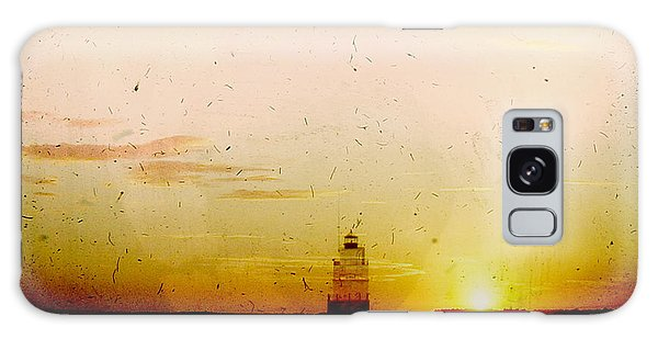 Manitowoc Breakwater Lighthouse Galaxy Case