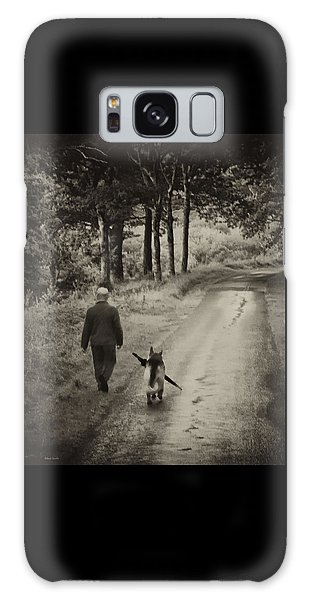 Man's Best Friend Galaxy Case