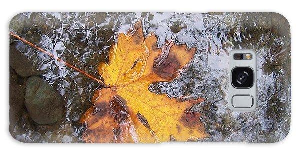 Maple Leaf Reflection 2 Galaxy Case by Peter Mooyman