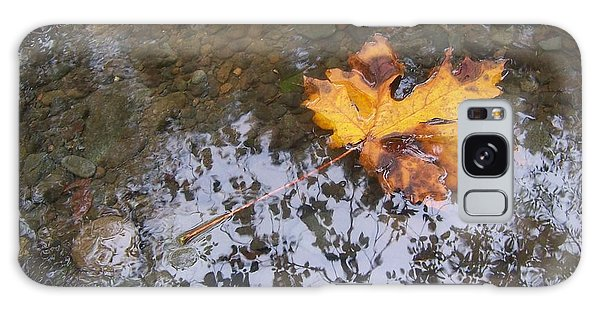 Maple Leaf Reflection 3 Galaxy Case by Peter Mooyman
