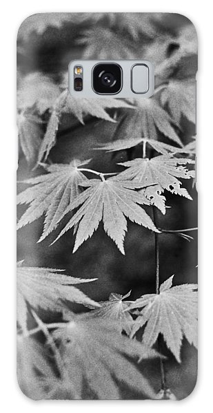 Maple Leaves In Seoul Galaxy Case by Julie VanDore