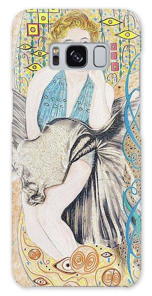 Marilyn After Klimt Galaxy Case