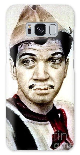Mario Moreno As Cantinflas In El Bombero Atomico  Galaxy Case by Jim Fitzpatrick