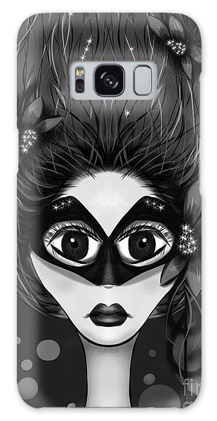 Masquerade Bw Galaxy Case