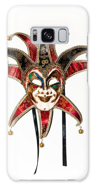 Masquerade Mask.joker Galaxy Case by Yurix Sardinelly