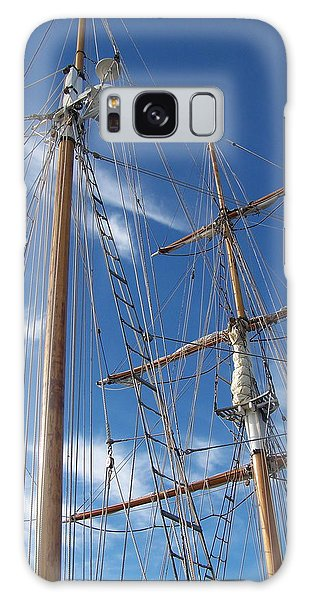Masts Galaxy Case by Robin Regan
