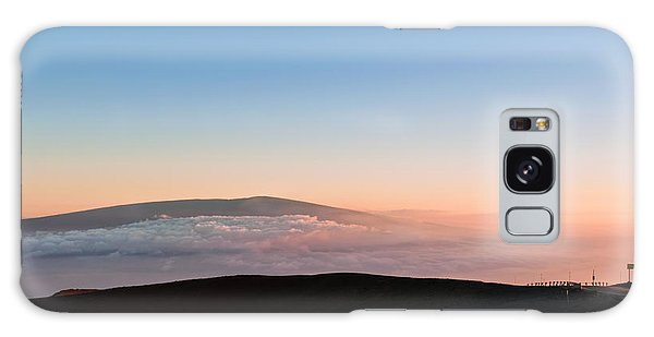 Mauna Loa Sunset Galaxy Case