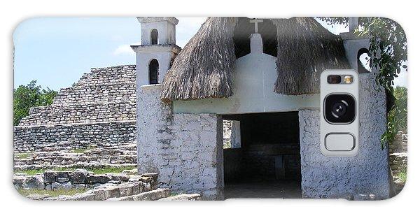 Mayan Chapel Galaxy Case