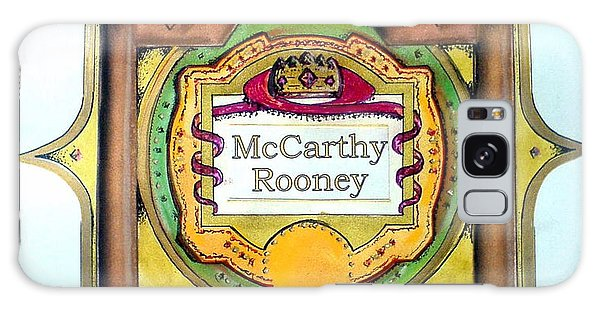 Mccarthy-rooney Family Crest Galaxy Case
