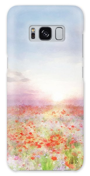 Meadow Flowers Galaxy Case
